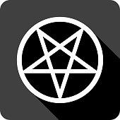 Pentagram Icon Silhouette
