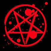 Pentagram occult symbol