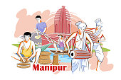 People and Culture of Manipur, India