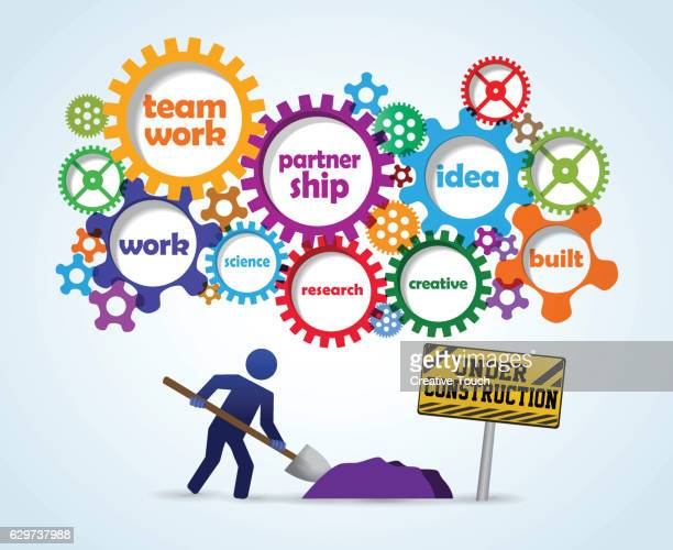 people and gears - {{relatedsearchurl('racing')}} stock illustrations, clip art, cartoons, & icons