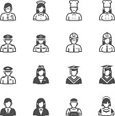 People and Occupation Icons