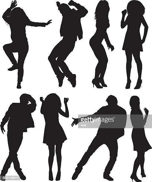 people dancing - dancing stock illustrations, clip art, cartoons, & icons