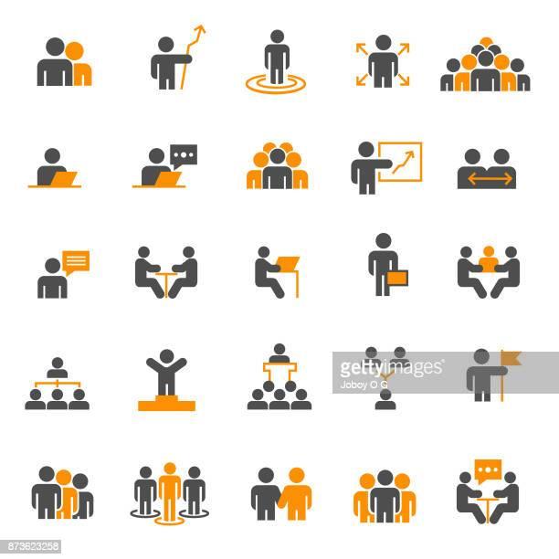 people icon - people stock illustrations