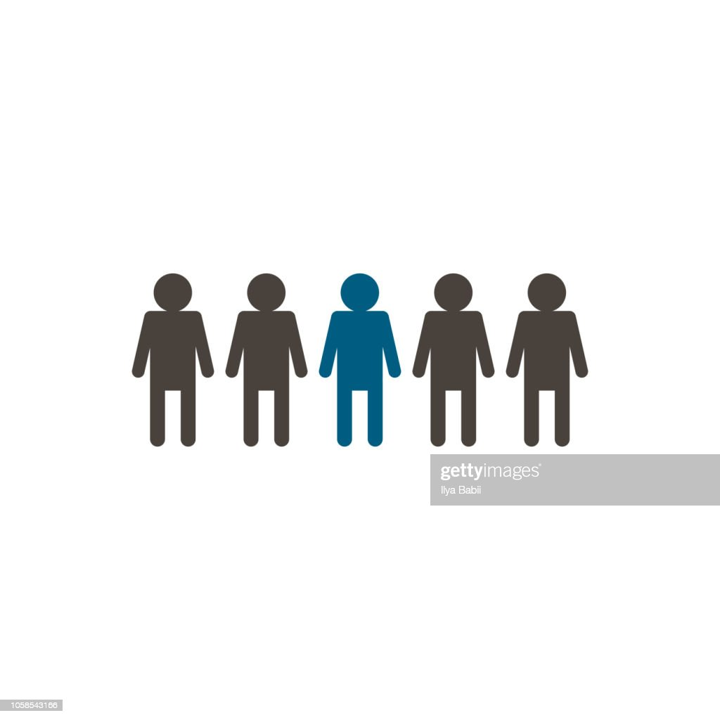 People icons. vector illustration