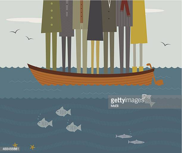 Cartoons Rowboat Stock amp; Getty Top 60 - Illustrations Clip Icons Images Art