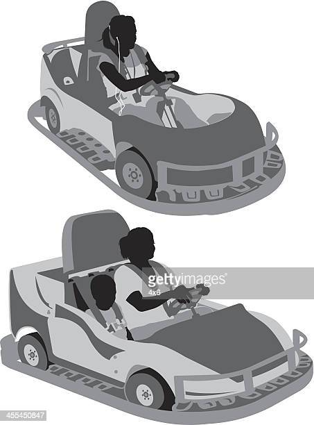 People in autoscooter