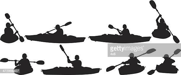 People in canoeing
