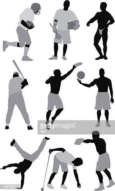 ilustrações de stock, clip art, desenhos animados e ícones de as pessoas envolvidas nas diferentes actividades desportivas - capoeira