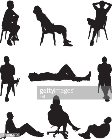 People Lounging Around Vector Art | Getty Images