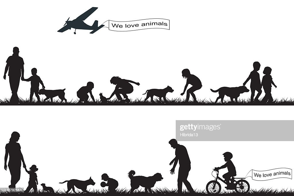 People love animals