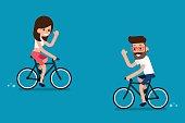 People on Bikes.