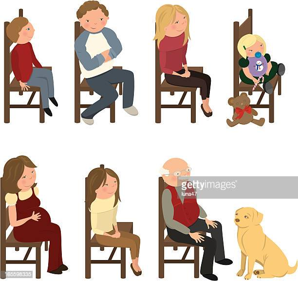 People on Chairs