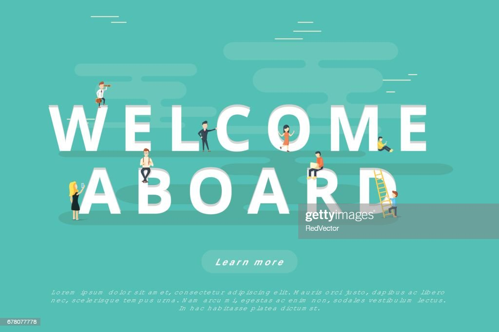 People on Welcome Aboard