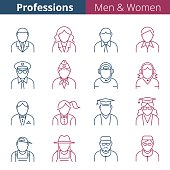 People professions and occupations