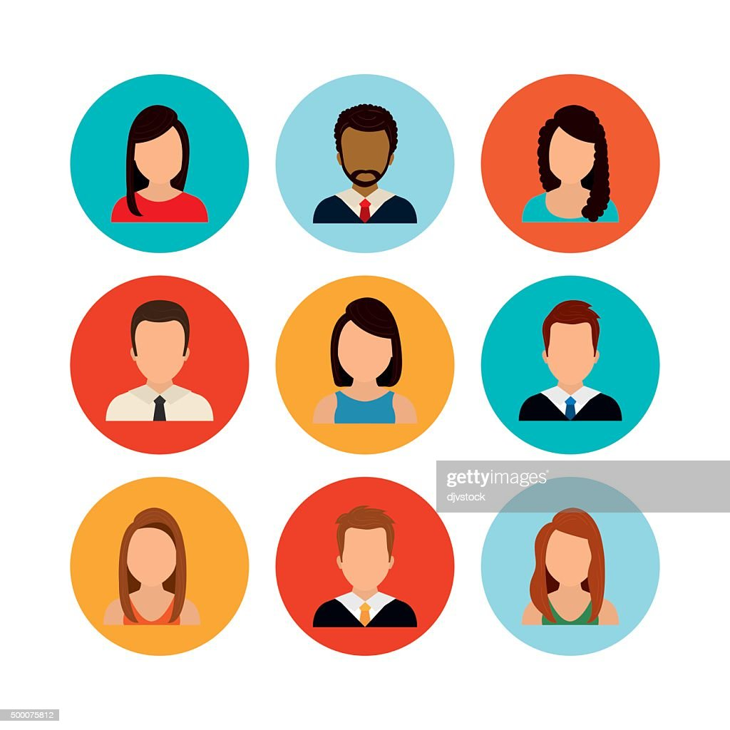 People profile graphic