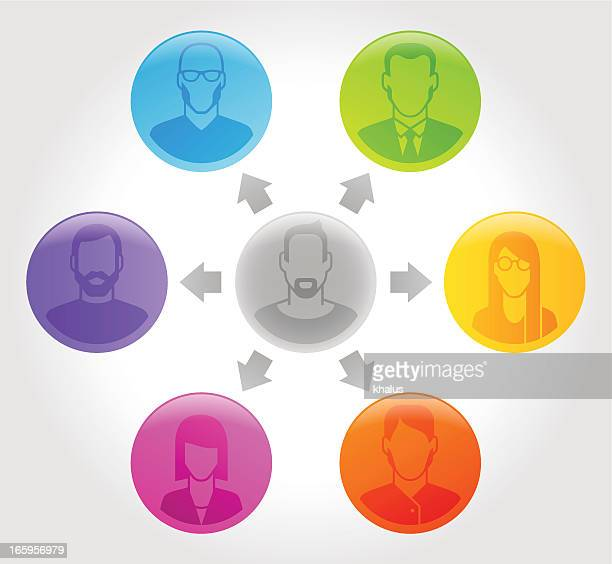 people profile - social - conspiracy stock illustrations, clip art, cartoons, & icons