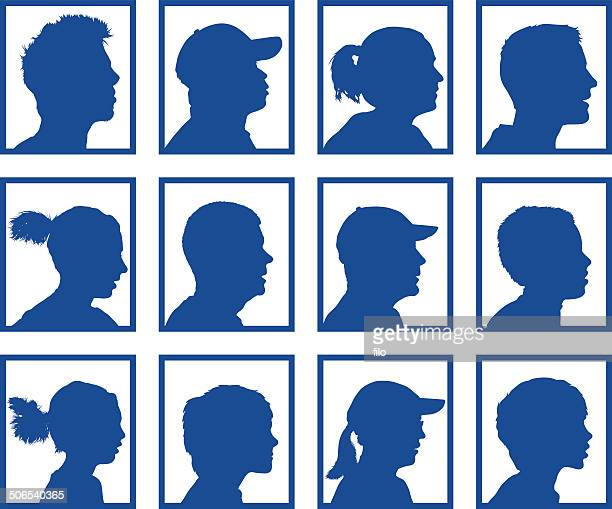 people profiles - testimonial stock illustrations, clip art, cartoons, & icons
