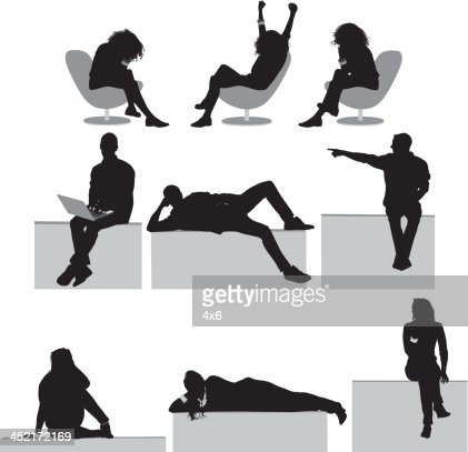 People Resting Stock Illustration Getty Images