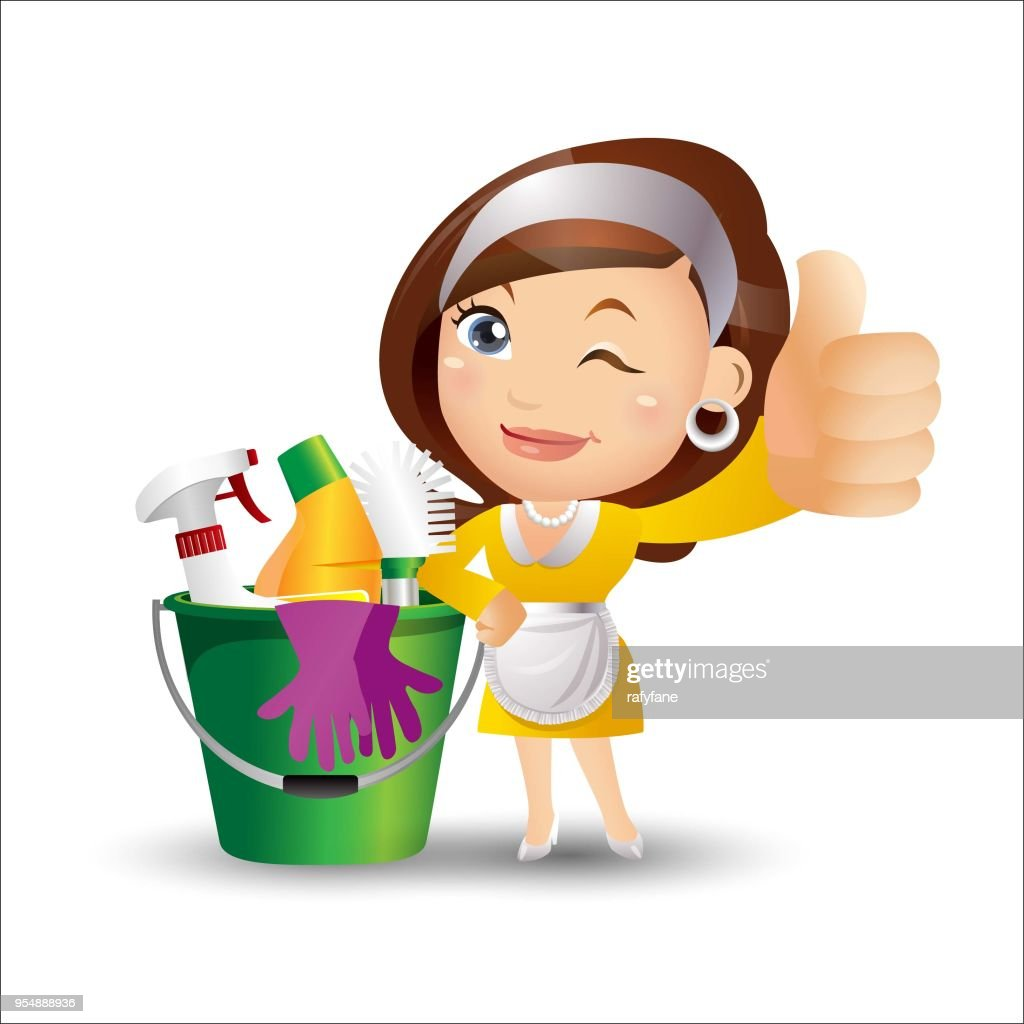 People Set - Profession - Cleaner