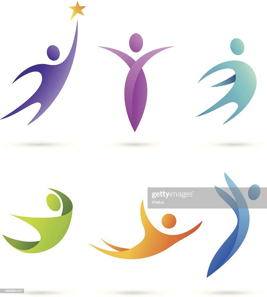 People | symbols set