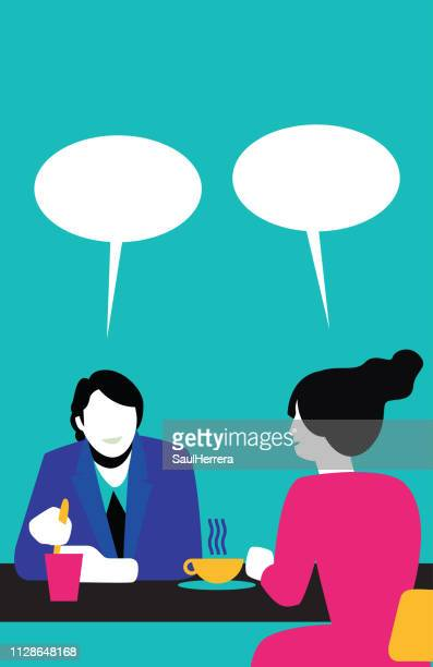 people talking - work romance stock illustrations, clip art, cartoons, & icons