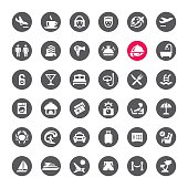 People Traveling vector icons