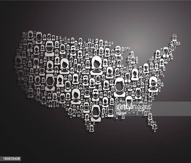 People USA Map