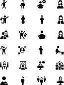 People Vector Solid Icons 2