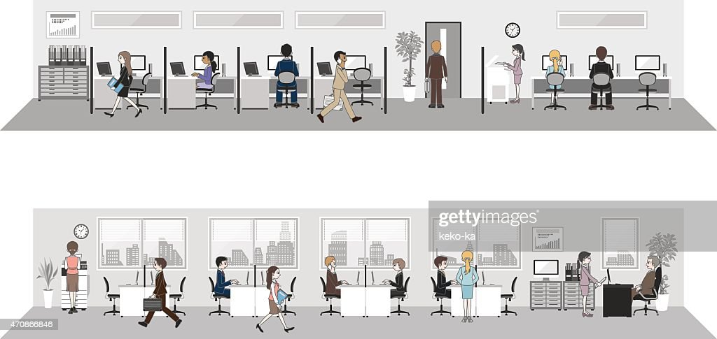 People who work in the office