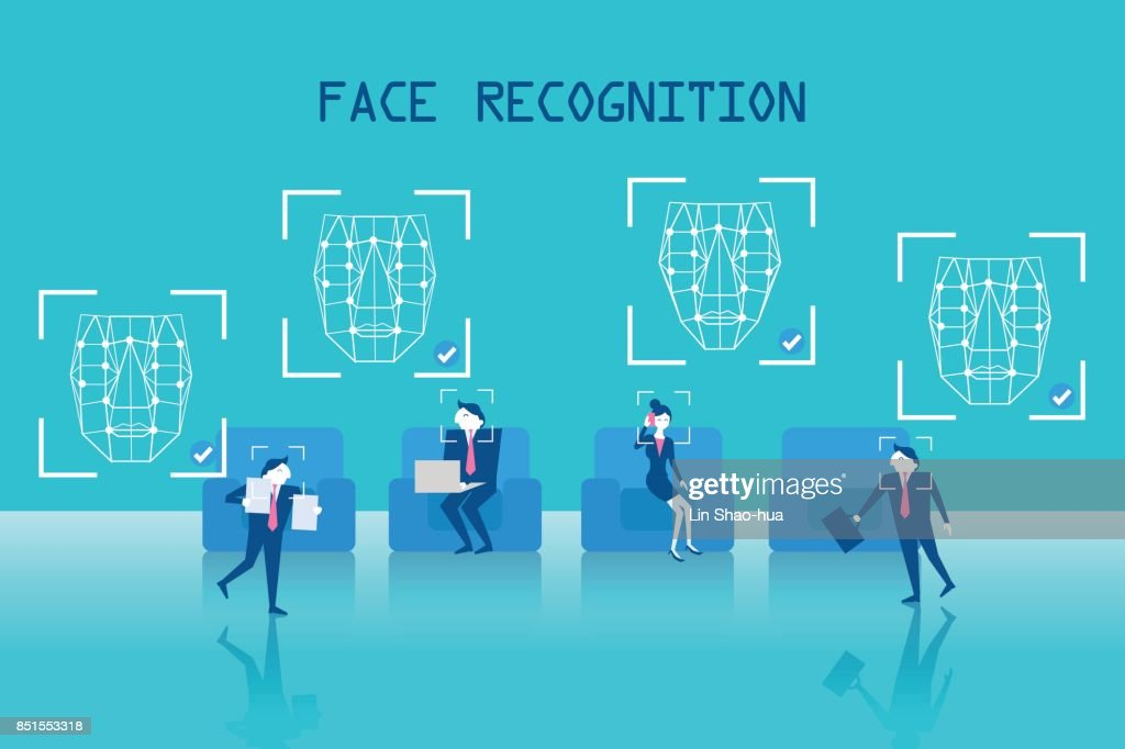 people with face recognition