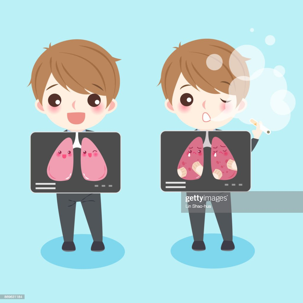 people with lung health