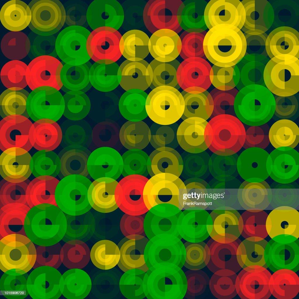 Pfeffer-abstrakten Kunst Kreismuster : Vektorgrafik