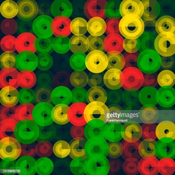 Pfeffer-abstrakten Kunst Kreismuster