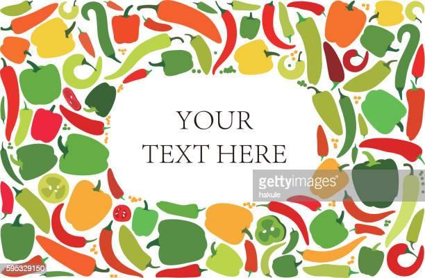 pepper icon set, vector illustration - bell pepper stock illustrations, clip art, cartoons, & icons