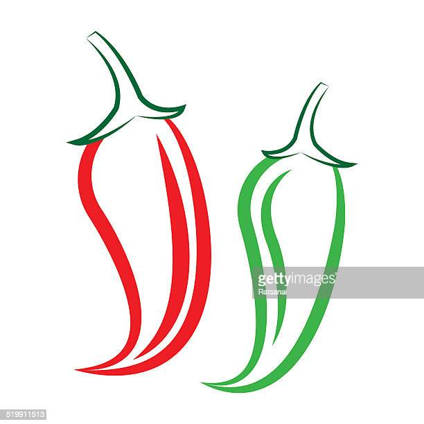 pepper - red chili pepper stock illustrations, clip art, cartoons, & icons