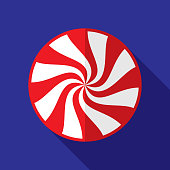 Peppermint Icon Flat