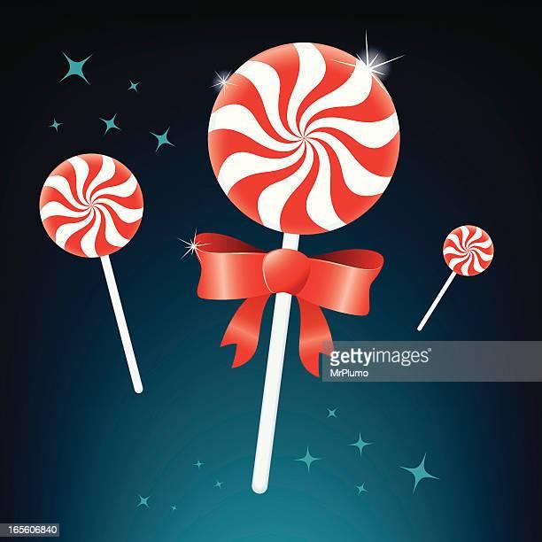 Peppermint lollipop