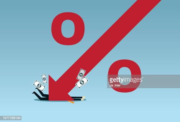 percentage decrease - deterioration stock illustrations, clip art, cartoons, & icons