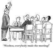 Perfect meeting attendance
