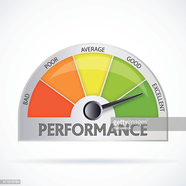 performance chart - performance stock illustrations, clip art, cartoons, & icons