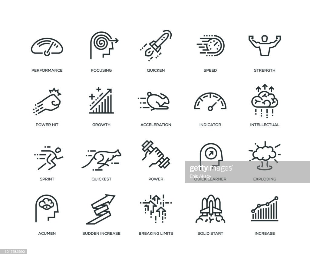 Performance Icons - Line Series