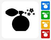 Perfume Icon Flat Graphic Design
