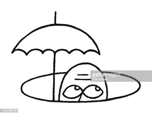 person peeking out of a hole - hidden stock illustrations, clip art, cartoons, & icons