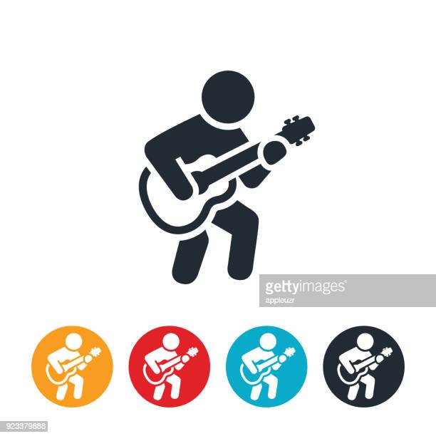 Person Playing Guitar Icon