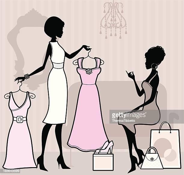 ショッピング代行サービス - 美容師点のイラスト素材/クリップアート素材/マンガ素材/アイコン素材