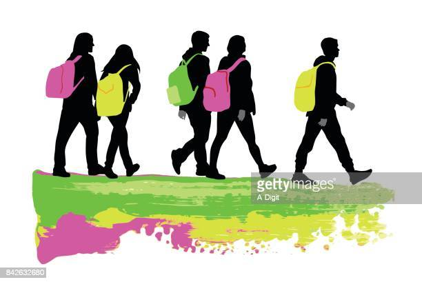 personality teens - young adult stock illustrations, clip art, cartoons, & icons