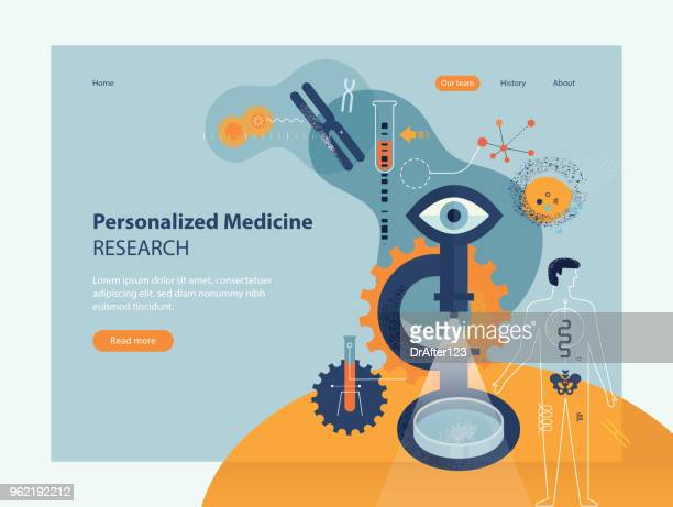 personalized medicine research - grainy stock illustrations, clip art, cartoons, & icons