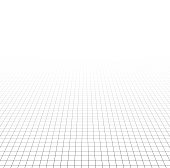 Perspective grid surface