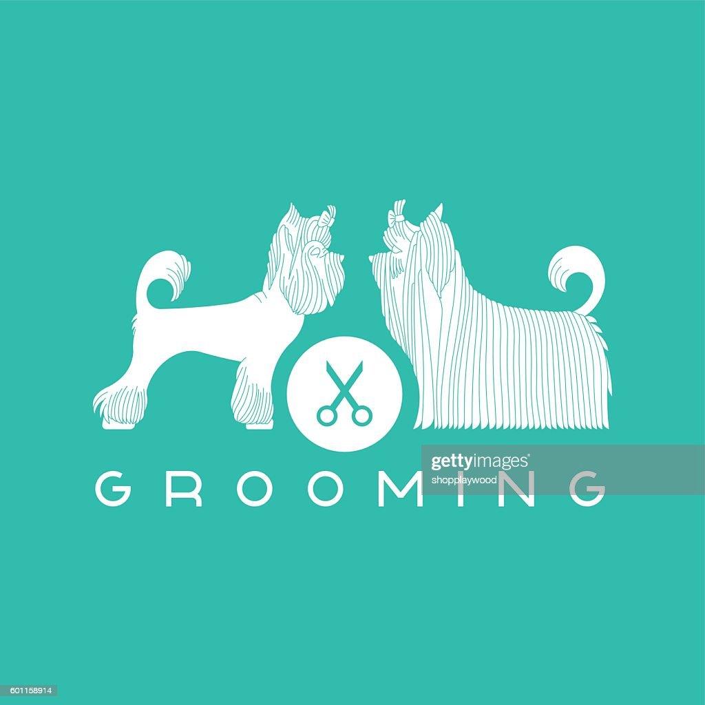 Pet grooming poster