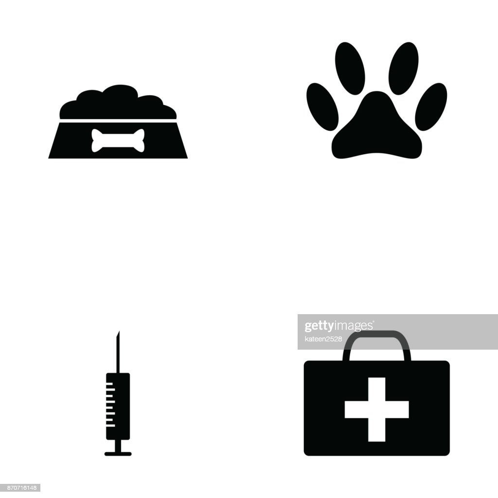 pet icon set